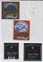 Collectible old beer label bottle labels Norway    #ber060
